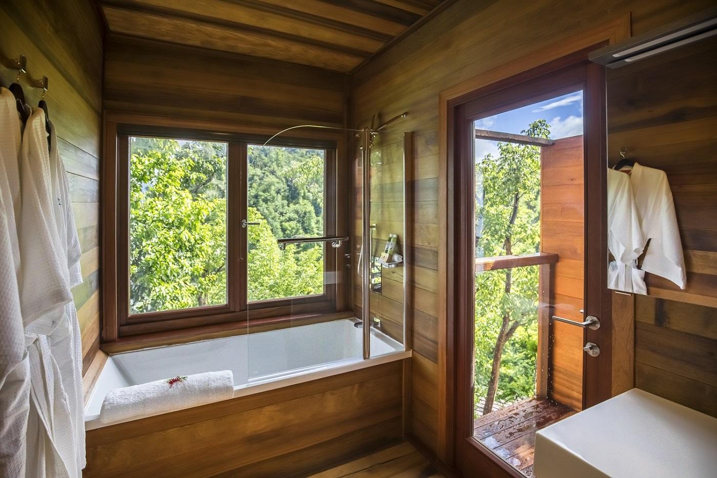 Secret Bay's Ti-Fey Villa Bathroom