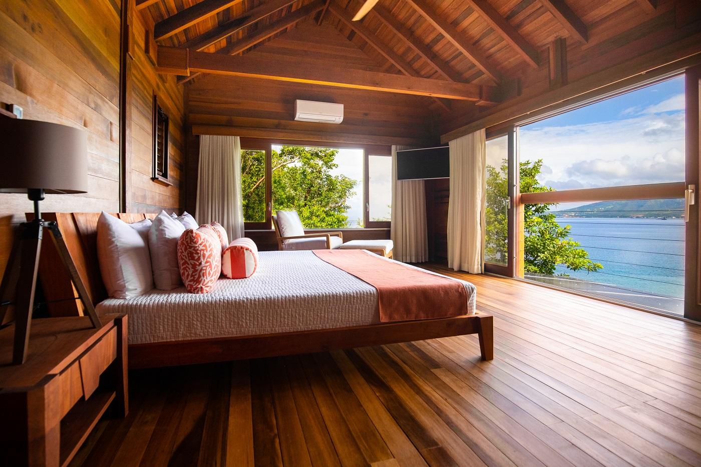 Secret Bay's Ti-Fey Villa Bedroom