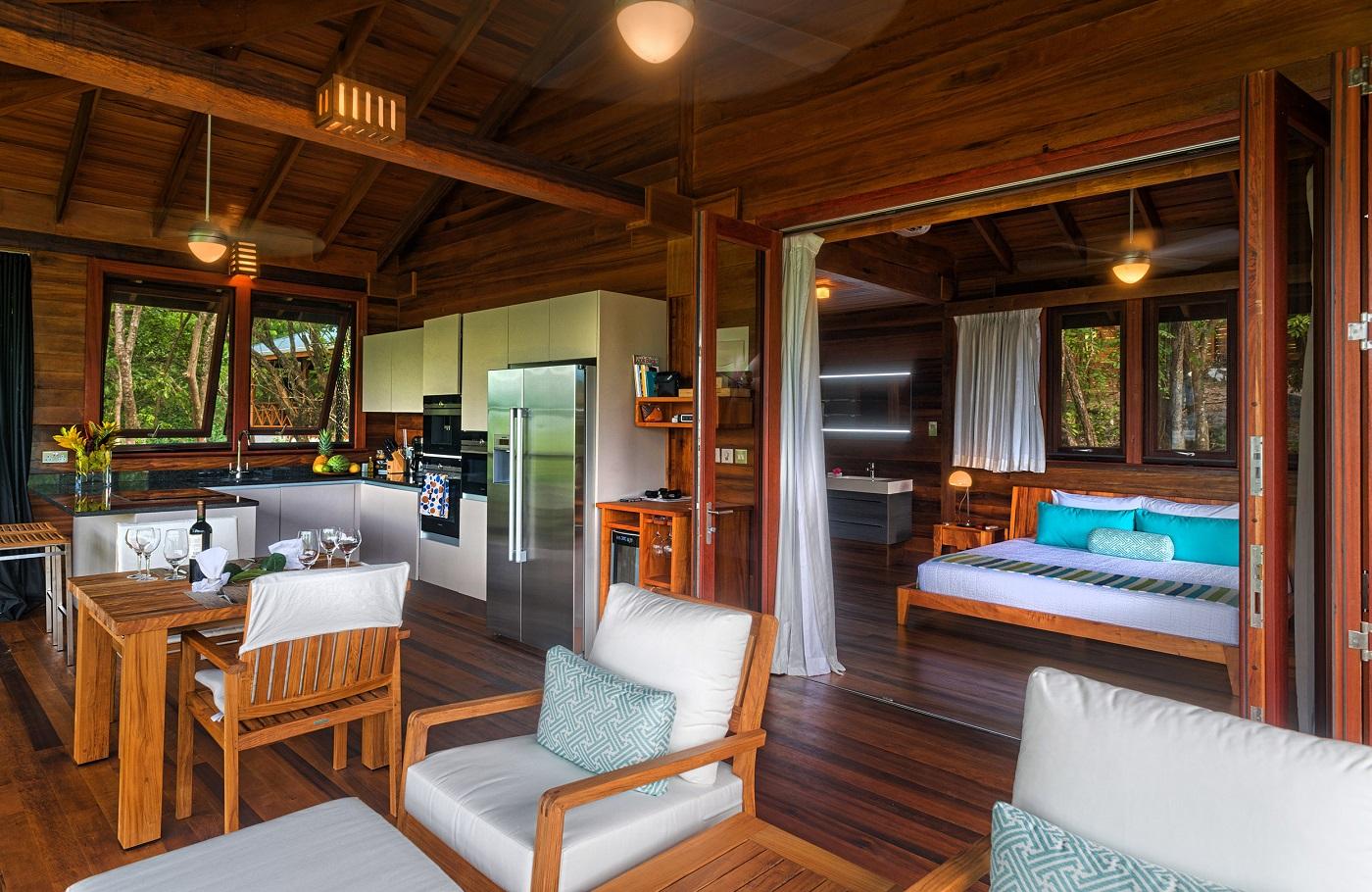 Secret Bay's Ylang Ylang Villa Interior