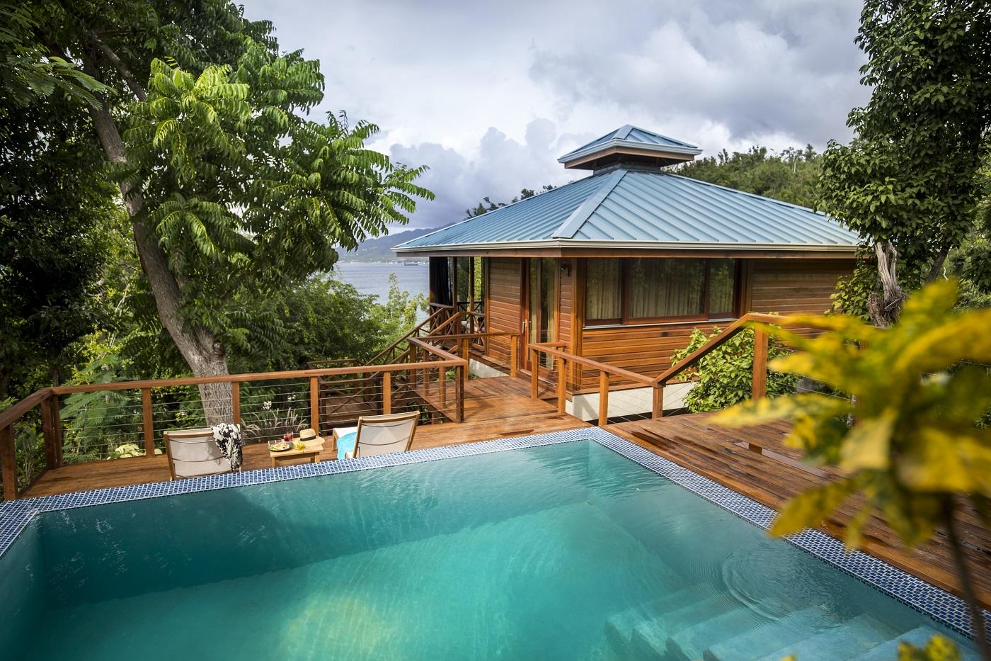 Secret Bay's Ylang Ylang Villa Private Plunge Pool