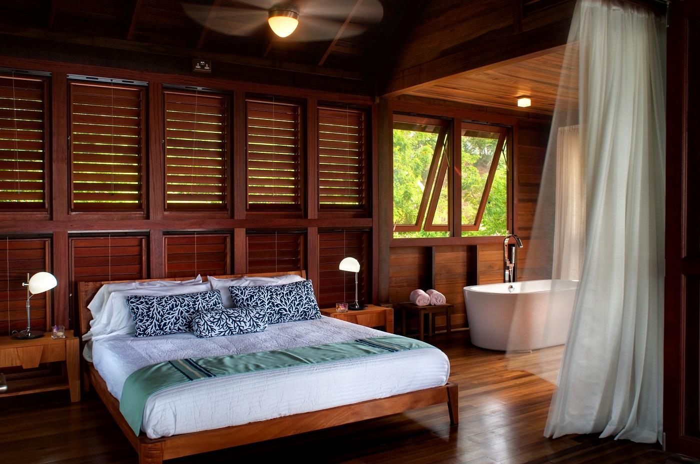 Secret Bay's Zabuco Villa Bedroom