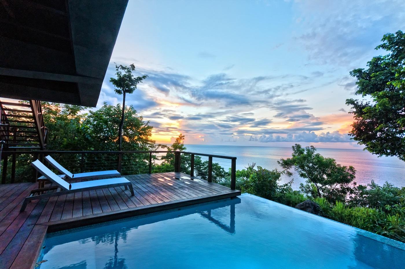 Secret Bay's Zabuco Villa Private Plunge Pool